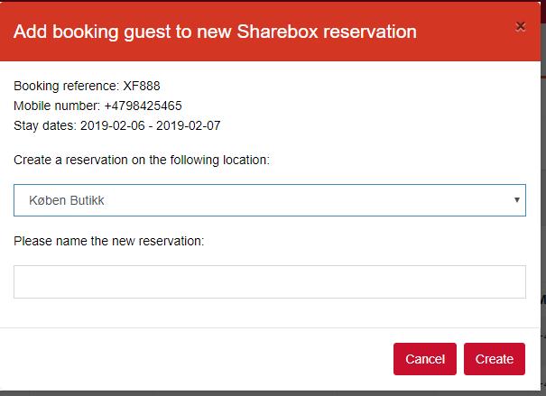 No5 process booking manually ad guest